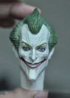 1/6 Mad Joker szef Sculpt dla 12''Figures ciała w Figurki i postaci od Zabawki i hobby na