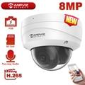 Anpviz 8MP 4K Dome IP Camera Security Outdoor IR Range 30m CCTV Video Surveillance Hikvision OEM IP67 Max 256GB Storage H.265+