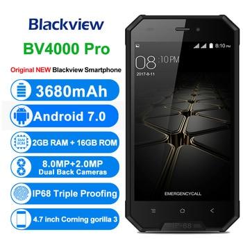 BLACKVIEW BV4000 Pro IP68 Waterproof Smartphone 4.7