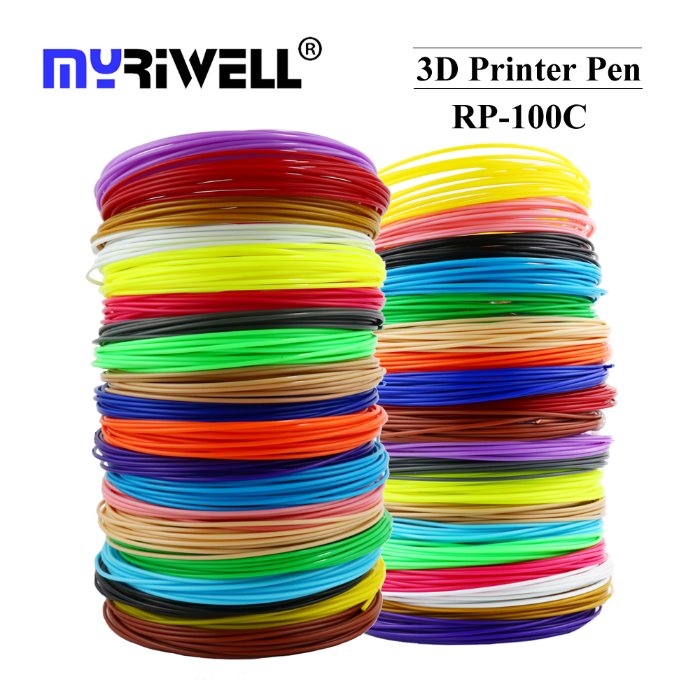 Наполнитель Myriwell 1,75 мм ABS PLA PCL пластиковый для 3d-ручки и экологически безопасного пластика