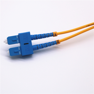 Image 4 - 10pcs Fiber Optic Patch Cable SC/UPC SC/UPC Single mode Duplex Fiber Optic Patch Cord 3m 3.0mm SC SC Fiber optical jumper Cable