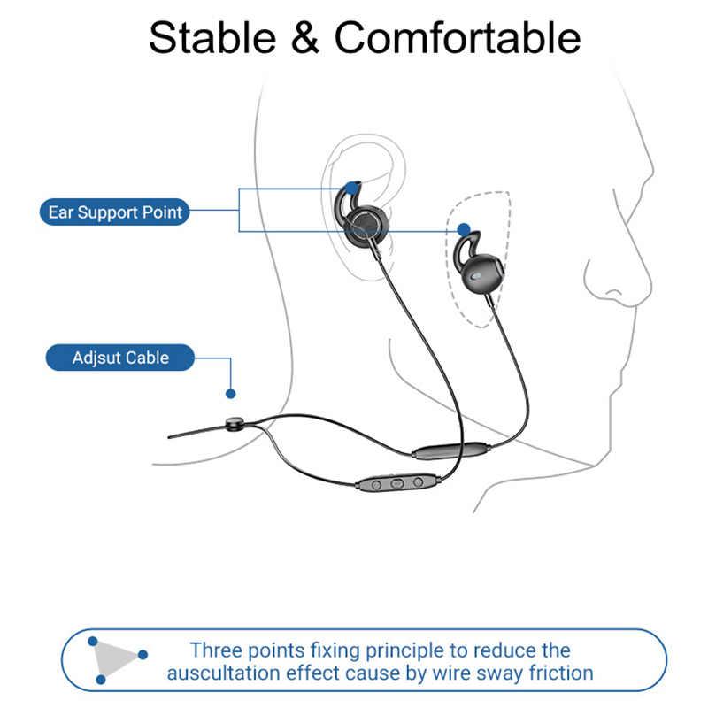 Langsdom L5B Bluetooth イヤホン hd マイク金属ステレオワイヤレスイヤホンヘッドフォン auriculares 電話