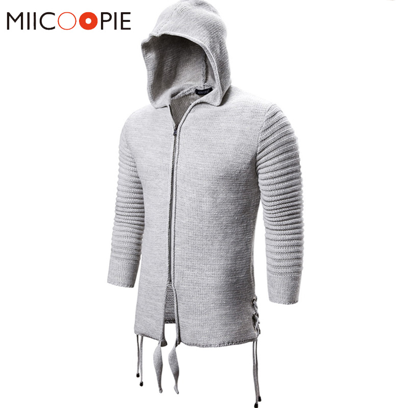 Pullover Men Zipper Pull Homme 2019 Brand Autumn Winter Cashmere Wool Hooded Pullover Sweaters Dewss Cardigan Men Jersey Hombre