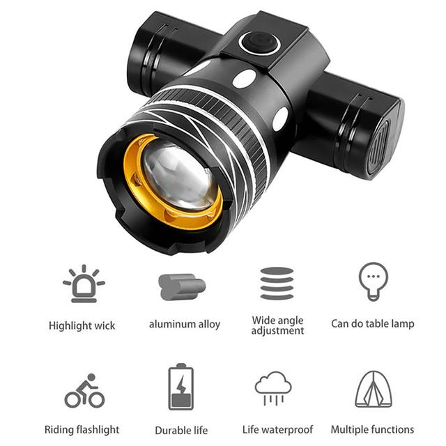 Z30 15000lm t6 led light bike/bicicleta/conjunto de luz usb recarregável farol/lanterna à prova dwaterproof água zoomable ciclismo lâmpada para bicicleta 3