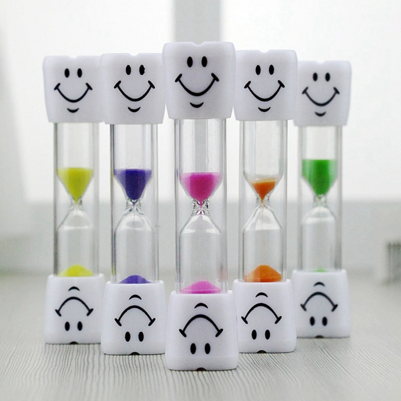 New Cartoon Hourglasses Toothbrush Timer For Brushing Kids Teeth Cute Sand Timer Home Decoration