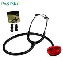 Portable Single Head Stethoscope Professional Cardiology Stethoscope Doctor Medical Equipment Student Nurse Medical Device зажим medical equipment
