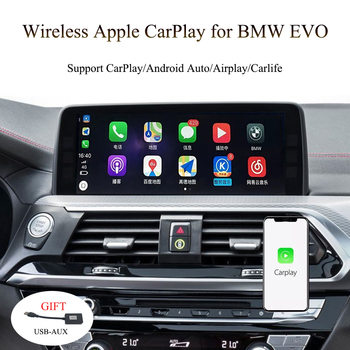 2019 Car CarPlay Interface for Business / Professional BMW vehicles OEM 6.5/8.8/10.2 Inch Screen 6Pins LVDS Plug and Play