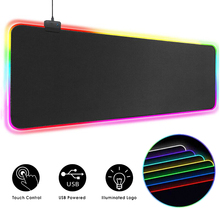 Carpet Desk-Mat Mouse-Pad Computer Mause Led-Gamer 900x400 Backlit for CS RGB XXL