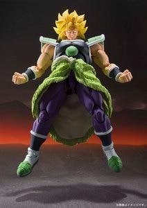 "Image 5 - Spiritueux BANDAI ""Dragon Ball SUPER"" Tamashii Nations S.H. Figurine de figurine SHF, Broly Super"