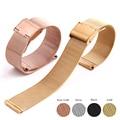 Milanese Gold Ersatz Armband 12mm 14mm 16mm 18mm 20mm 22mm für Smart Uhr Universal strap