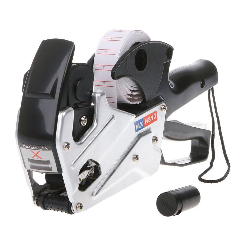 5pcs Universal Price Label Tag Maker Labeller MX-H813 Coding Machine Ink Wheel Roller Black Marking machine ink wheel stickers