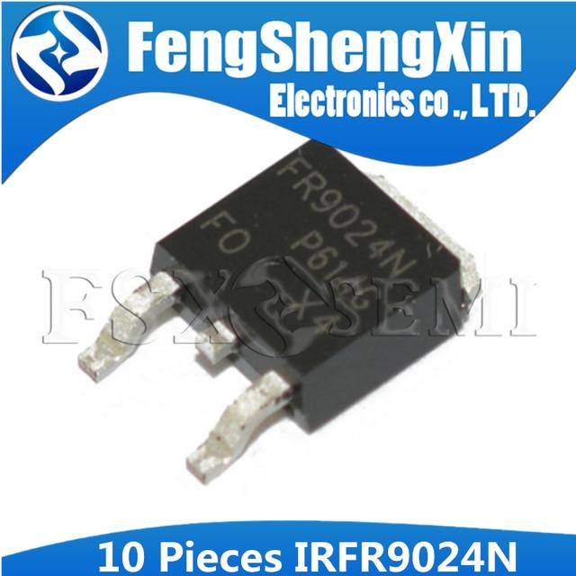 10 ชิ้น/ล็อต IRFR9024 TO 252 FR9024 TO252 IRFR9024N IRFR9024NTRPBF IRFR9024NTR Power MOSFET