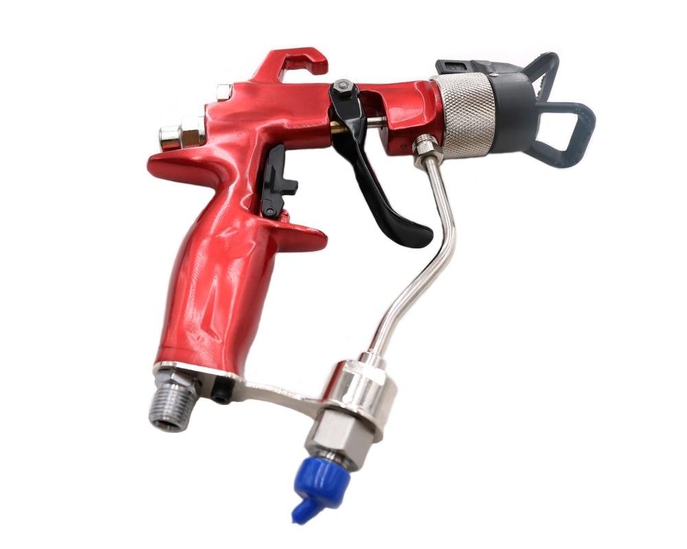 Pistola a spruzzo pneumatica professionale per spruzzatore airless - Utensili elettrici - Fotografia 4