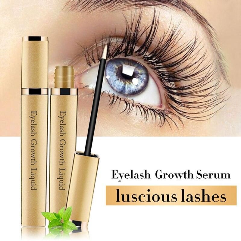 Eye Lashes Growth Eyelash Growth Enhancer Serum Eyebrow Eyelash Growth Treatment Lash Curly Thicker And Longer Makeup Mascara