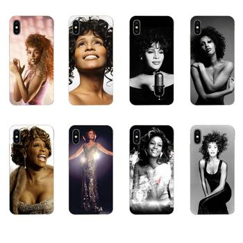 TPU Cover Cases For Huawei Mate 9 10 20 P P8 P9 P10 P20 P30 P40 Lite Pro Smart 2017 Sexy Singer Whitney Houston image