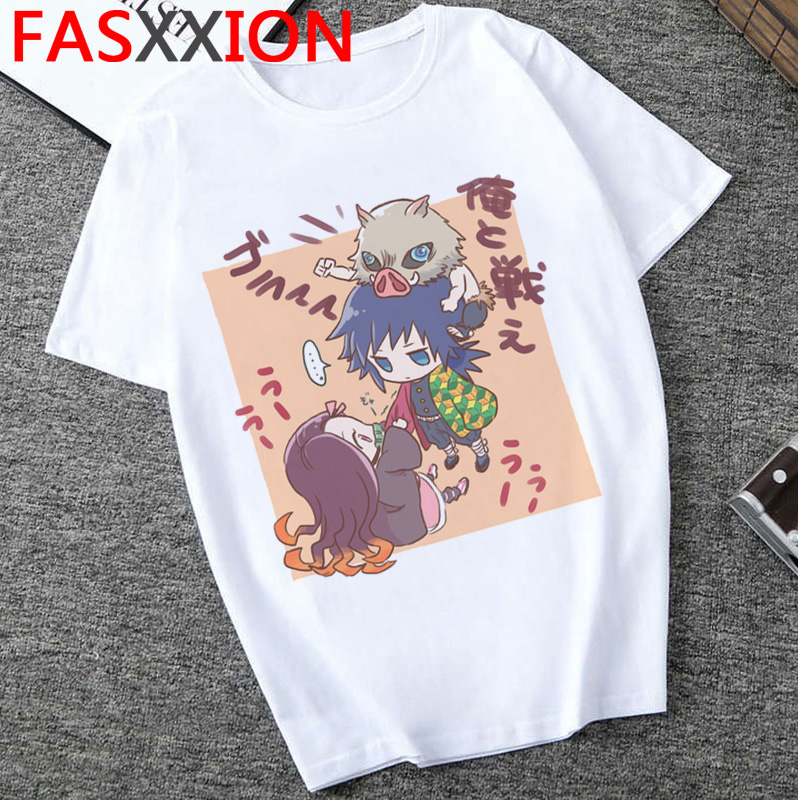 Hbad82231aa54459bbe170d4d2dc9114bp - Demon Slayer T-shirt  Graphic Tees Men Streetwear  Japanese Anime Cool Tshirt Funny Cartoon Kimetsu No Yaiba T Shirt Male