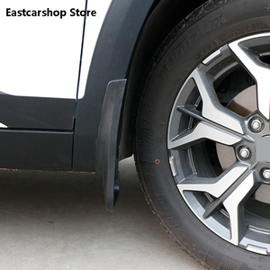 Image 3 - for Kia Seltos KX3 2020 2021 Car Front Rear Mudflaps Fender Flares Mud Flaps Painted Mudguards Splash Guards Accessories