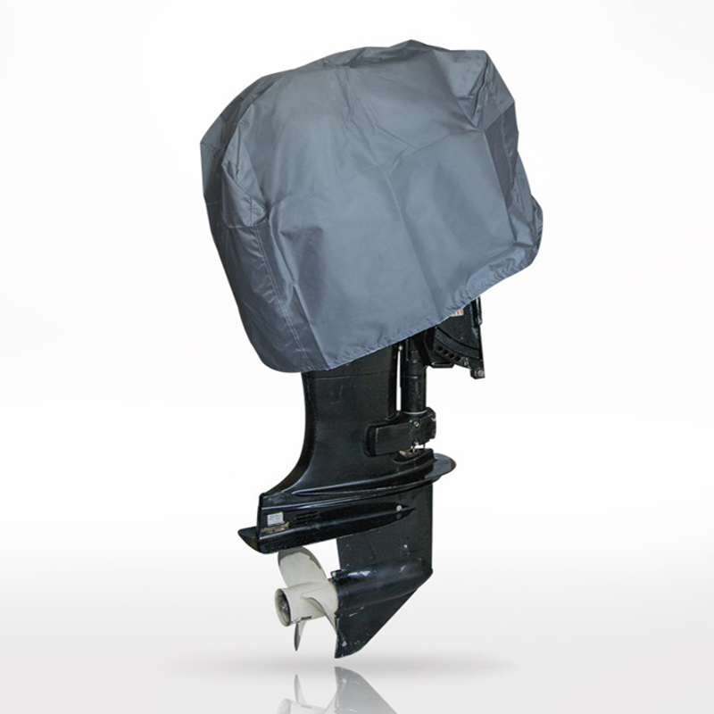 1PC Heavy-Duty Oxford Fabric Rainproof Waterproof Cover Canvas Cover For Boat Outboard Motor