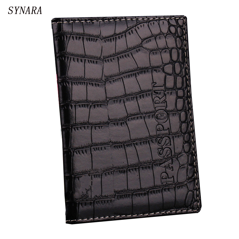 Free shipping PU leather passport cover passport holder passport bag for women men