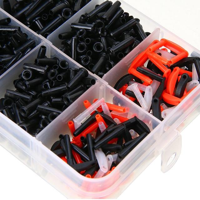 1500pcs/box Eyelets Portable Lightweight Durable Badminton Grommets Set Sports Racket Stringing Tools Accessories Racquet Nylon