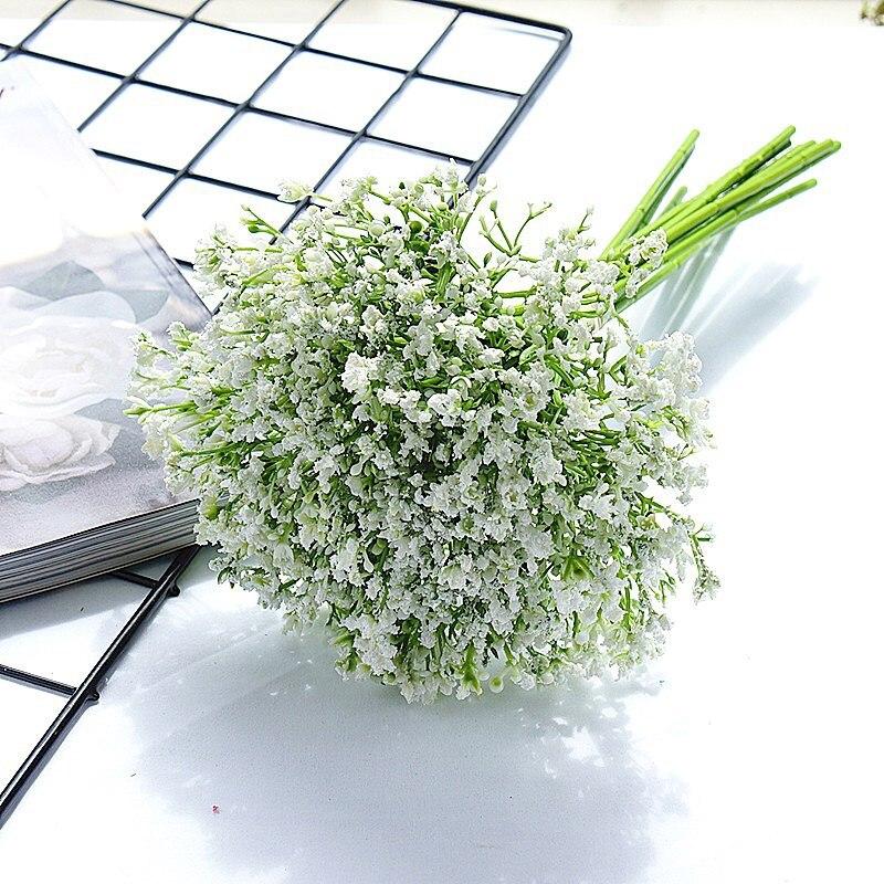 Детские дышащие Искусственные цветы ручной работы для свадебных букетов для украшения дома|Искусственные и сухие цветы|   | АлиЭкспресс