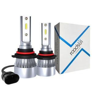 Image 1 - Car Headlight Bulbs H7 LED H1 Lamp H11 9005 9006 HB3 HB4 H4 Auto Light C6 LED Upgradation Super Bright 12000Lm 6000K 12V