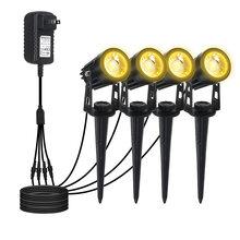 Газонный светильник светодиодный cob 12 в пост Тока 3 Вт точечный