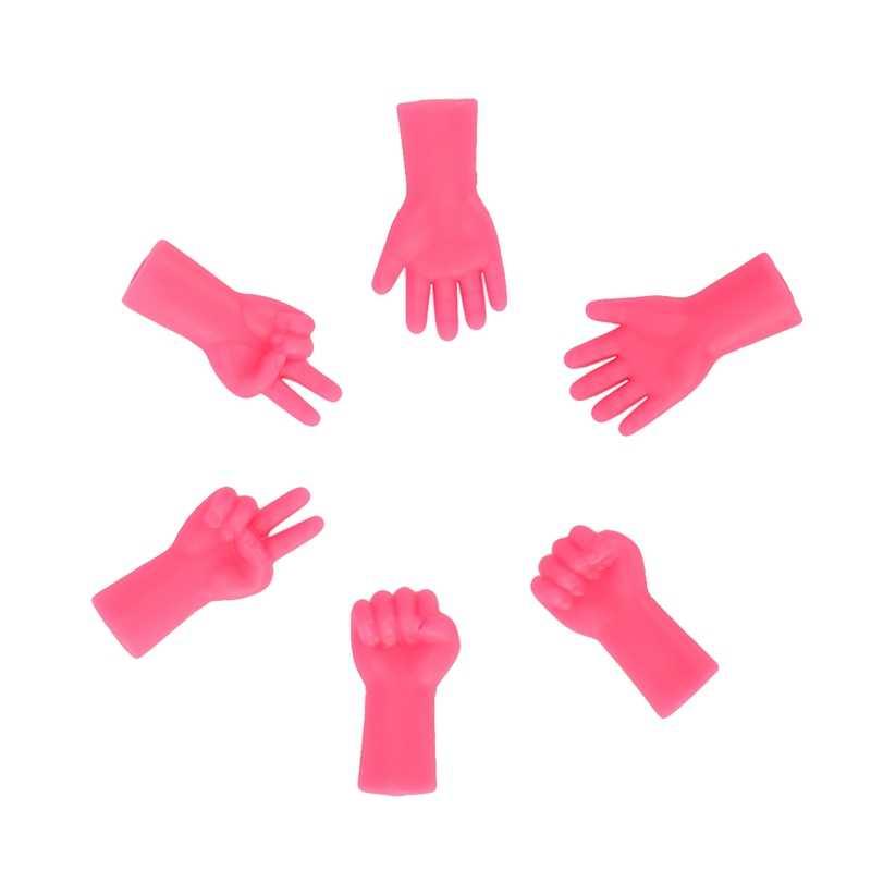 6 unidades/pacote agulhas de tricô ponto protetores para diy tecer tricô e costura mix em forma de agulha ponta rolha ferramentas de costura