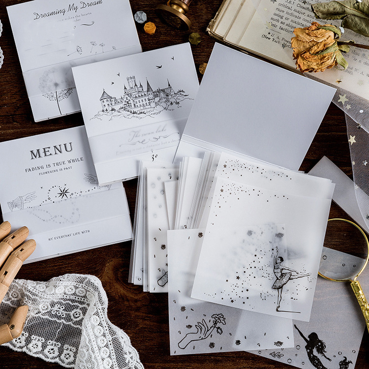 Mohamm Old Dream Series Sugar Poetry Sulphuric Acid Paper Notebook