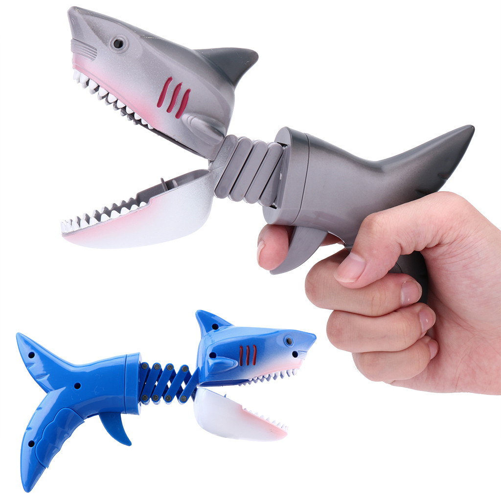 Shark Model Animal Figures Grabber Claw Game Snapper Pick Up Claw Novelty Funny Toy Kids Gift Juguetes Kids Toys игрушки New