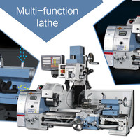 Industrial turning drilling and milling machine Multifunctional desktop lathe metal Turn drilling and milling One machine