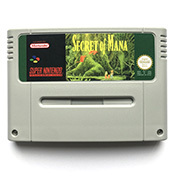 Secret of Mana 16bit game cartidge for pal console