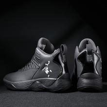 New Sneakers Basketball-Shoes Jordan High-Top Buffering Air-Cushioning Breathable  for Shockproof Mens
