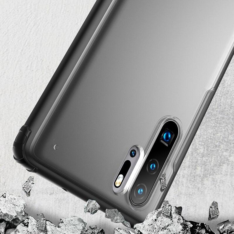 Zachte TPU Shockproof Case Voor Huawei P30 Pro P30 Lite Beschermhoes Voor Huawei p30 Lite volledige beschermhoes - 5