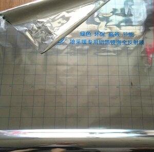 Image 5 - 100m2 السفينة حرة توفير الطاقة الألومنيوم احباط العزل مرآة انعكاس الفيلم للكهرباء نظام تدفئة تحت الأرض