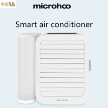 Youpin 1000Ml Capaciteit Mini Usb poort Draagbare Airconditioner Touch Screen 99 Speed Aanpassing Energiebesparende Ventilator Koeling
