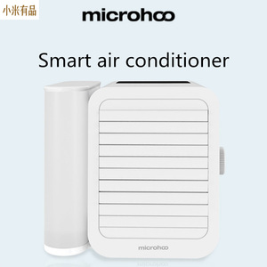 Image 1 - Youpin 1000Ml Capaciteit Mini Usb poort Draagbare Airconditioner Touch Screen 99 Speed Aanpassing Energiebesparende Ventilator Koeling