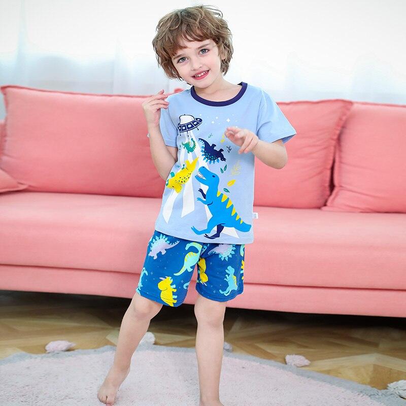 Toddler Kids Girls Cotton Pajamas Sleepwear Outfits Sets Newborn Baby 2Pcs Clothing Set Long Sleeve Cartoon Ladybug Letter Print Top Print Pants Set Nightwear Tracksuit Set 1-5 Years