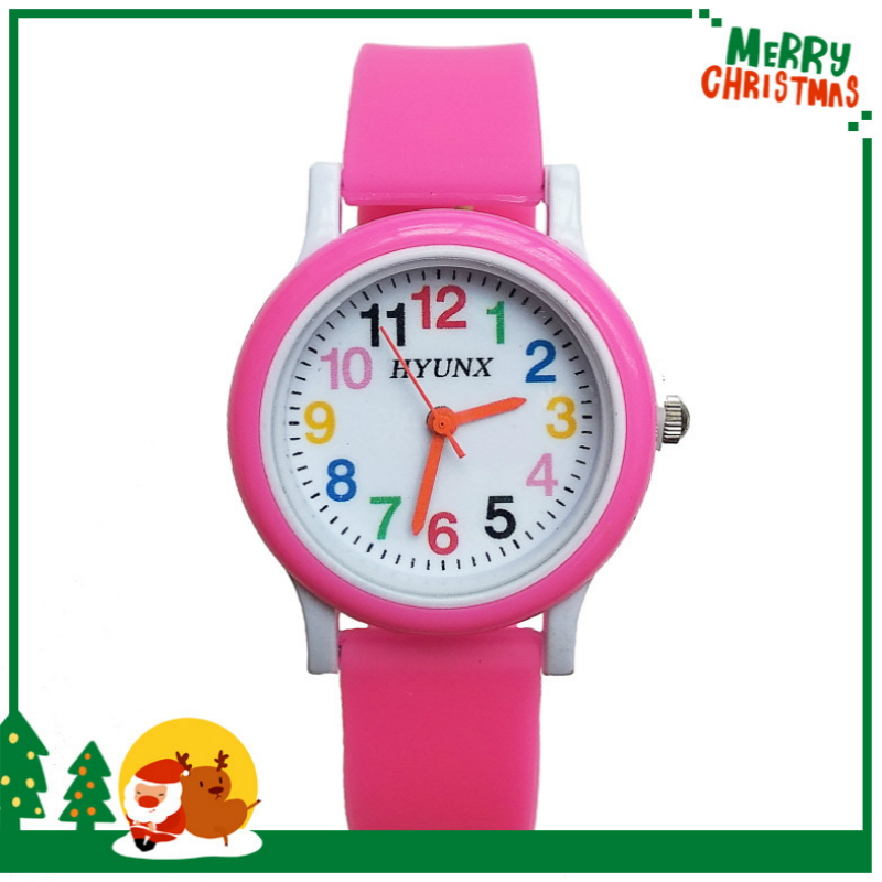 2019 Dropshipping New Arrival Quartz Children Watch Silicone Band Boy Girl Watches Kids Christmas Gift Digital Electronics Watch