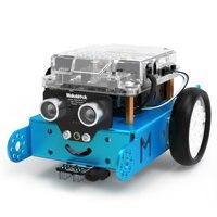 Makeblock mBot DIY Robot Kit, Entry level Programming for Kids, STEM Education. (Blue, Bluetooth Version)