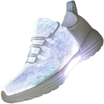 EU Size 25-46 Light Up Shoes for Adult&Kids LED Shoes Adult&kids Fiber Optic Luminous Sneakers USB Recharging Party Footwear kids led shoes men lights up sneakers women usb charging colorful led light up luminous fiber optic shoes for boys girls