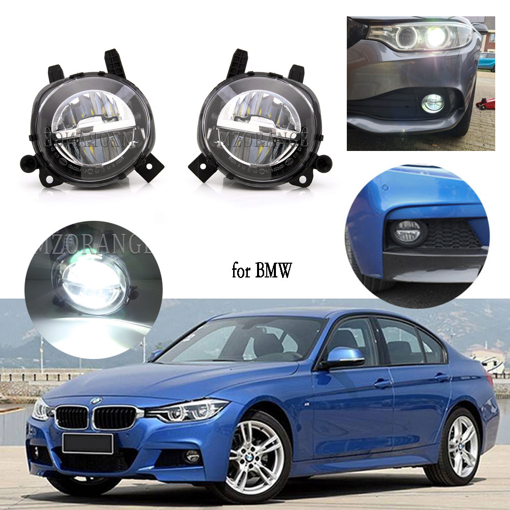 LED Nebel Licht für BMW F20 F22 F30 F35 LCI 2012-2018 Scheinwerfer Nebel Lichter LED DRL Scheinwerfer Nebel lampe Front Auto Driving Lampe