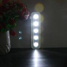 Беспроводной ночник с 5 Светодиодами для кабинета чулана гардероба