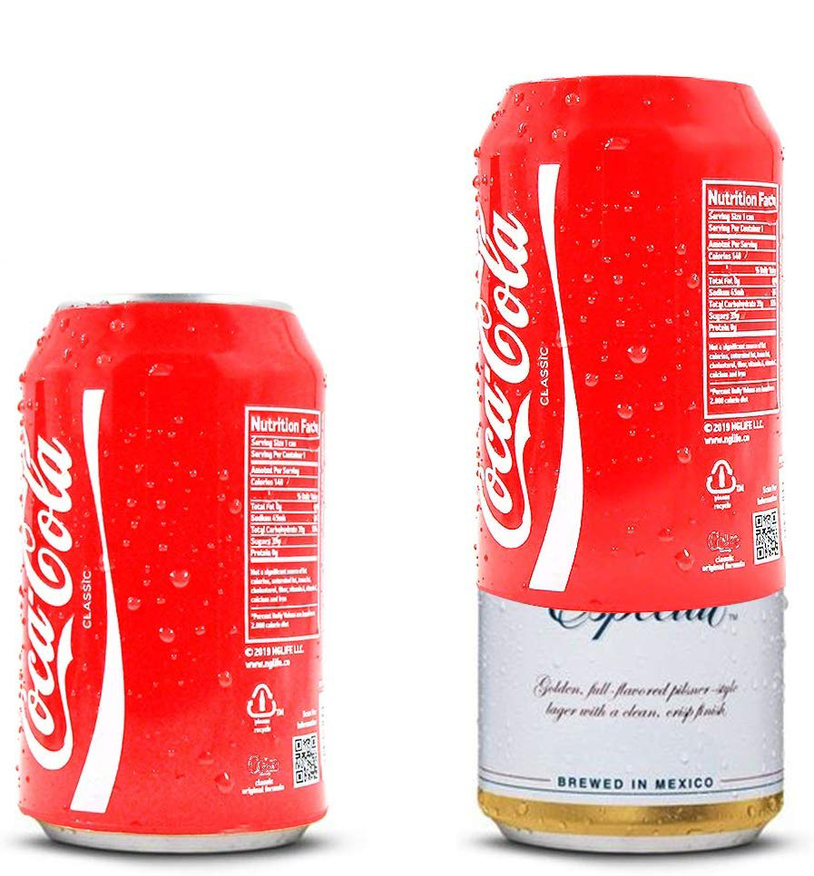 Silicone Protector Hide A Beer Can Cover Hide Your Beverage Can Beer Can Sleeve Suitable For 12 Oz 355ml Cans Trick Your Colleag