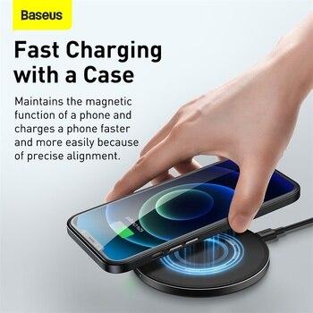 Магнитный кожаный чехол Baseus для iPhone 12 Pro 12 Pro Max Mini