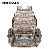 [Manufacturers Direct Selling] 600D Camouflage Backpack Sports Backpack Multi functional Combination Sports Backpack Camping Pac