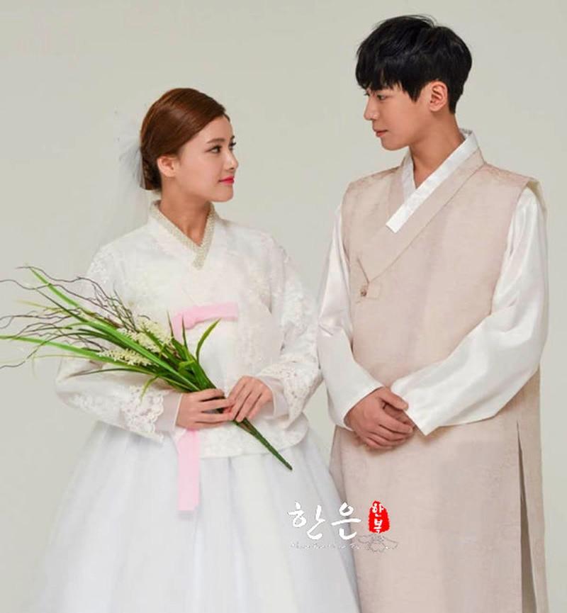Korean Imported Fabric / Bride Groom Wedding Hanbok / Couple Hanbok / Wedding Dress