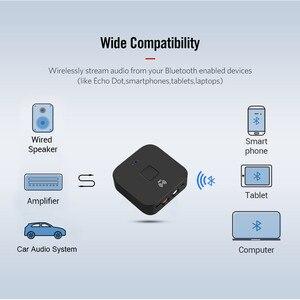 Bluetooth 5,0 RCA аудио приемник APTX LL 3,5 мм 3,5 AUX Jack музыка беспроводной адаптер с микрофоном NFC для автомобиля тв колонки Авто Вкл/Выкл