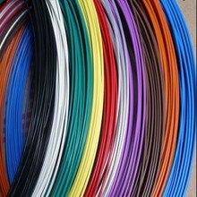 26 24 22 20 18AWG 0,12 0,2 0,35 0,5 мм2 тефло высокотемпературный сигнальный кабель многоцветный оловянный многожильный PTFE политеф провод