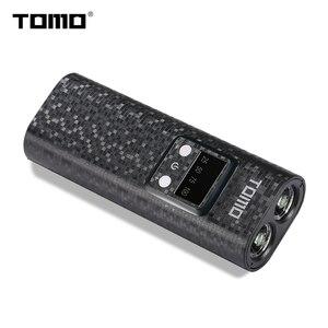 Image 3 - 18650 caricabatterie Torcia Led powerbank batteria di caso di immagazzinaggio di visualizzazione intelligente TOMO Q2